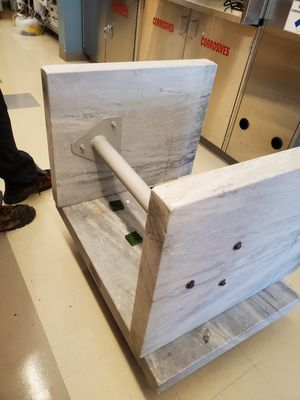 Marble weight balance table, fairly new for Sale in Burlington, MA