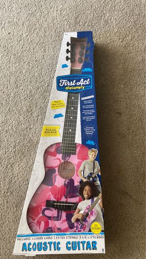 Brand new First Act discovery Acoustic Guitar for Sale in Pleasanton, CA