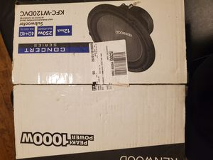 """Kenwood 12"""" subwoofer for Sale in Chicago, IL"""