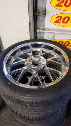 BMW 19 inch chrome rims 5×120 for Sale in Baltimore, MD
