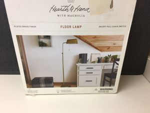Brand New Gold Floor Lamp for Sale in Moreno Valley, CA
