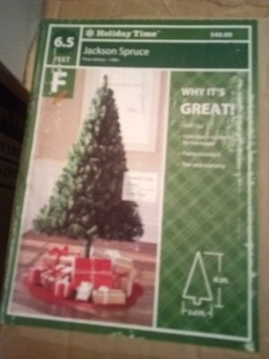 Fake Christmas trees 1 green 1 white for Sale in Benton, IL