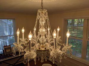 Crystal chandelier for Sale in Littleton, MA