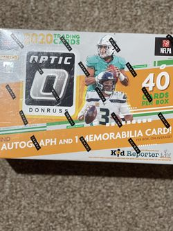 2020 NFL Optic Mega Box Brand New factory Sealed for Sale in Bellevue,  WA
