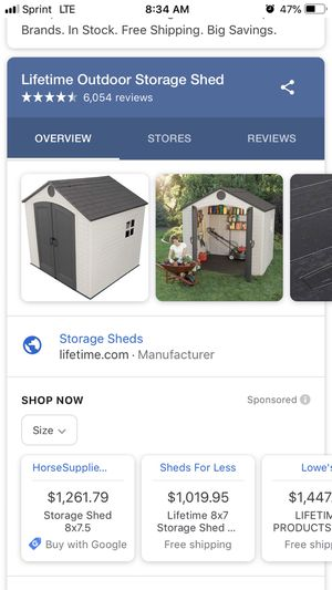 Storage shed for Sale in Fontana, CA