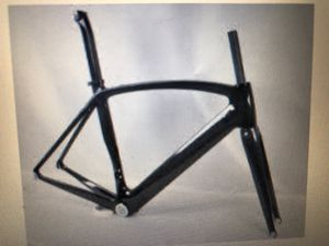 Frame and fork set only (carbon fiber) road bike for Sale in Las Vegas, NV