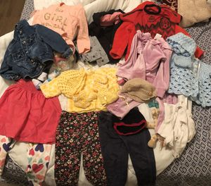 Baby girl clothes 6-12months for Sale in Dallas, TX
