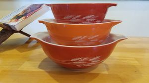 Pyrex Autumn Harvest Bowls 441 442 443 for Sale in Anaheim, CA
