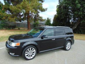 2011 Ford Flex V6 Ecoboost Black on Black Leather 90K Miles Reg 2020 for Sale in Hayward, CA