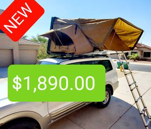 XL Hard Shell Roof-Top Tent with Annex (BRAND-NEW) for Sale in Phoenix, AZ