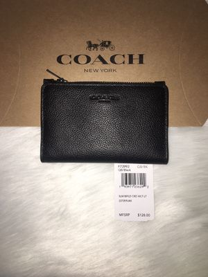 AUTHENTIC COACH SLIM BIFOLD/CARD HOLDER for Sale in Glendale, CA