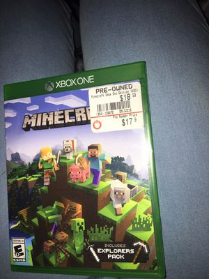 Xbox one Minecraft for Sale in Providence, RI