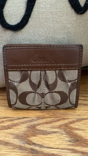 Coach small wallet for Sale in Washington, DC