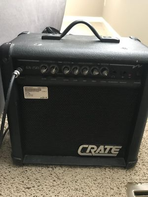 Electric Guitar Amplifier bag Xbox CD for Sale in Plain City, OH