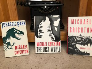 MIchael Crichton books (collector's item) for Sale in Arvada, CO