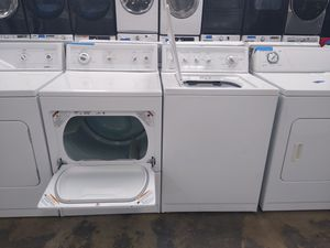 Washer and dryer set Kenmore excellent condition 4 months of warranty for Sale in Bowie, MD