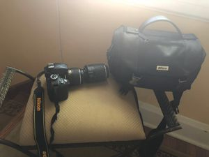 Nikon D3300 Camera DSLR Like New 2 Lenses Bundle with carrying case for Sale in MD, US