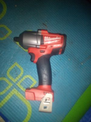 Milwaukee m18 fuel1/2 mid torque impact wrench driver as is in picture no battery no charger for Sale in Manteca, CA