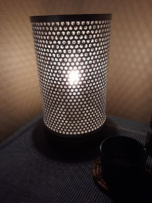 PEWTER TONE TABLE LAMP for Sale in Clearwater, FL