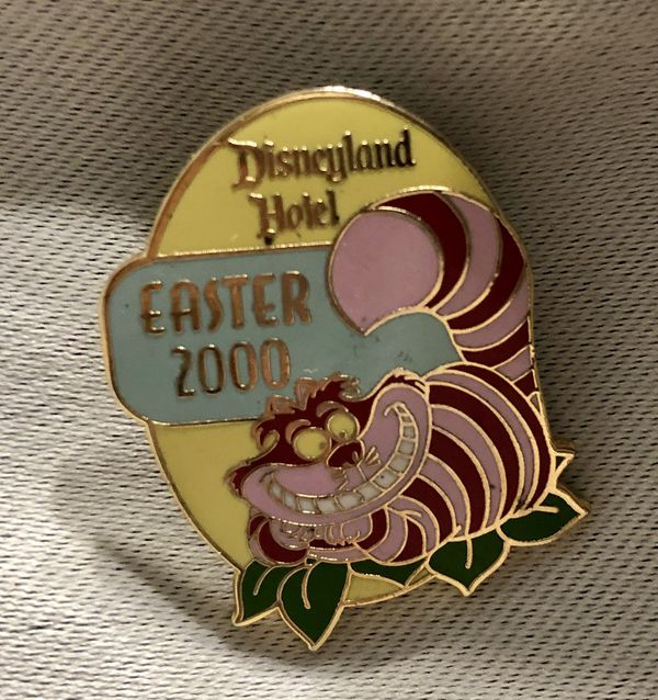 Disney Easter 2000 Pin (Alice and wonderland cheshire the cat)