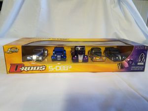 D-Rods Jada Toys 5-Deep FORD PACK 1:64 Scale Die Cast Metal for Sale in Gilbert, AZ