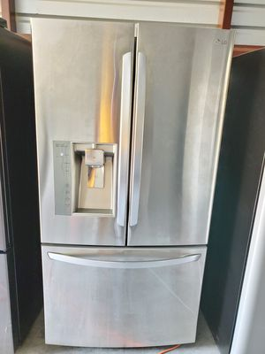 LG 3 door Refrigerator/ Excellent and Good deal for Sale in Houston, TX