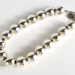 Tiffany & Co. 925 Sterling Silver 10mm Bead Bracelet for Sale in Boca Raton, FL