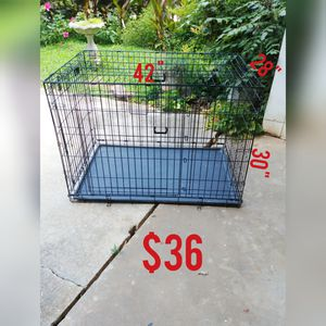 "42"" double-door folding crate. for Sale in Stone Mountain, GA"