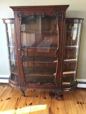 Antique china cabinet for Sale in Cohasset, MA