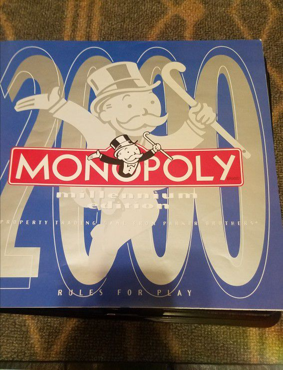 MONOPOLY Millennium Edition All Pieces Included