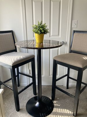 Three high dining set for Sale in Manassas Park, VA