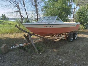 Boat and trailer (no titles) for Sale in St. Peters, MO