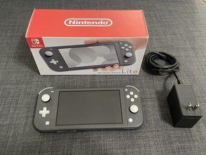 Nintendo Switch Lite - Gray - PERFECT CONDITION for Sale in Miami, FL