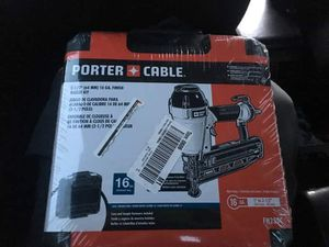 Nail gun porter cable for Sale in Trabuco Canyon, CA