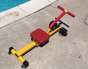 Child's flat rowing machine workout set for Sale in Alta Loma, CA
