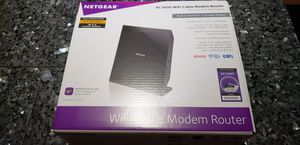 Ac 1600 wifi Cable modem router Comcast Xfinity time Warner cox for Sale in Sarasota, FL