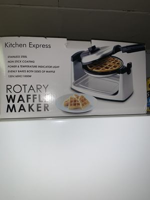 Miscellaneous Kitchen Appliances Waffle Iron Pizza Stone Electric Skillet Bamboo Bowl for Sale in Glenshaw, PA