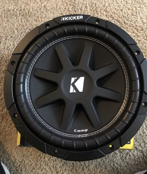 "Kicker 10"" Subwoofer for Sale in Waldorf, MD"