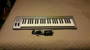 M-Audio keystation 49e keyboard for Sale for sale  Marietta, GA