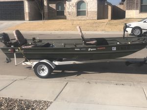 14ft Jon boat for Sale in Midland, TX