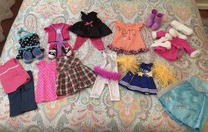 Doll Clothes that fit American Girl dolls for Sale in Darien, IL
