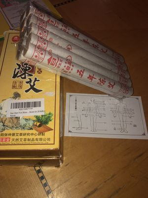 2 Boxes of 20 Rolls Pure Moxa for Moxibustion for Sale in La Vergne, TN