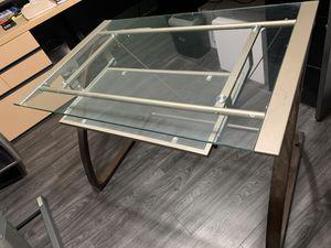 Free Glass Desk for Sale in Bensenville, IL