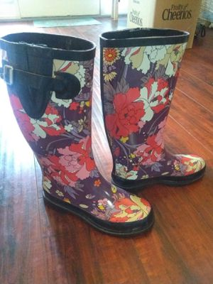 Floral Rain Boots for Sale in Riverside, CA