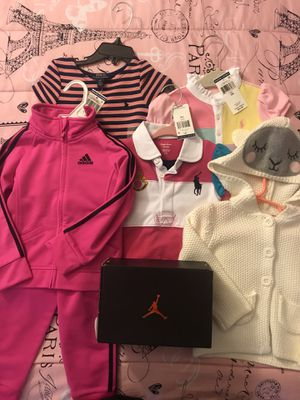 Girl Toddler Clothes: 8 Clothing Sets + Extra for Sale in Bowie, MD
