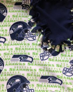 Seattle Seahawks Fleece Blanket for Sale in Las Vegas,  NV