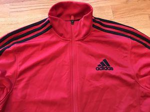 Adidas Red & Black Jacket for Sale in Iowa City, IA