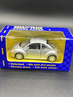 Road & Track VW Volkswagon Maisto Power Racer Beetle Silver NIB! for Sale in Peoria,  IL
