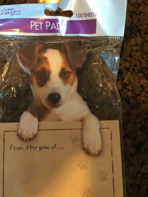 Jack Russell Terrier note pads - brand new for Sale in Chicago, IL
