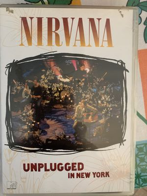 Nirvana Unplugged DVD for Sale in San Diego, CA